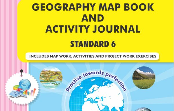 CCE Pattern Nigam Scholar Workbooks Geography Map Book And Activity Journal Standard – 6