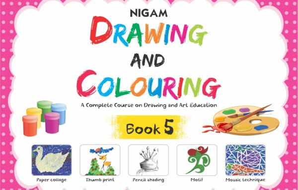 Nigam Drawing And Colouring Book – 5