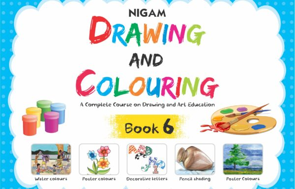 Nigam Drawing And Colouring Book – 6