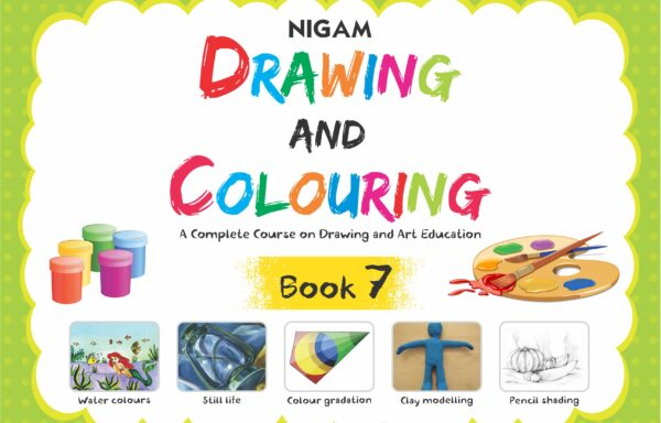 Nigam Drawing And Colouring Book – 7