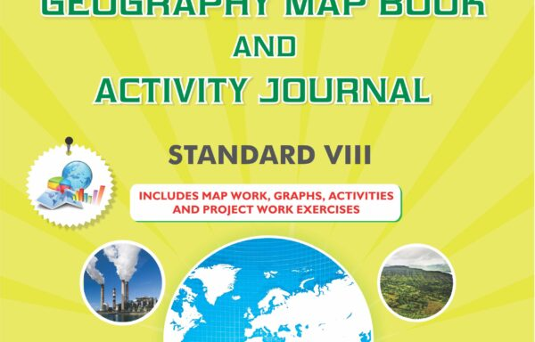 CCE Pattern Nigam Scholar Workbooks Geography Map Book And Activity Journal Standard – VIII