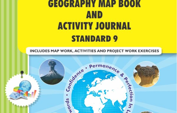 CCE Pattern Nigam Scholar Workbooks Geography Map Book And Activity Journal Standard – 9